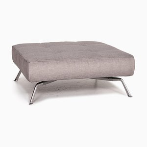 Smala Silver Ottoman from Ligne Roset