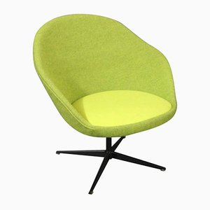 Lindgrüner Dänischer Sessel, 1960er