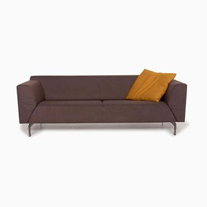 318 Linea Gray Sofa by Rolf Benz