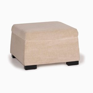 Cream Stool by Walter Knoll