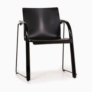 Thonet S320 Wood Chair Black