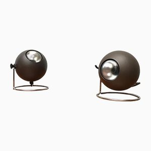 Mid-Century Table Lamps from Erco, Set of 2