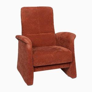 Himolla Orange Rust Red Armchair