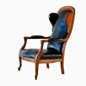Louis Philippe Open Armchair, 1800s