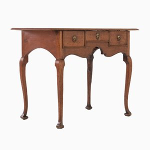 English Walnut Console Table, 1700s
