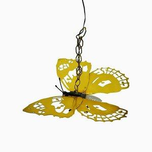 Brass Butterfly Lamp, 1960s