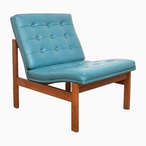 Danish Teak Lounge Chair by Ole Gjerløv-Knudsen & Torben Lind for France & Søn / France & Daverkosen, 1960s