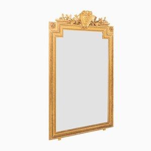 Antiker französischer Spiegel im Louis XVI Stil