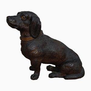 Victorian Terracotta Dachshund