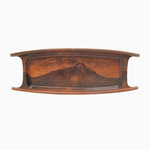 Brazilian Rosewood Bowl by Hans Gustav Ehrenreich for Hans Gustav Ehrenreich, 1950s