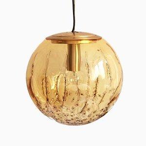 Italienische Sphärische Ambra Deckenlampe von La Murrina, 1970er