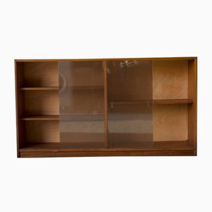 Mid-Century Teak & Glass Shelf, 1960s