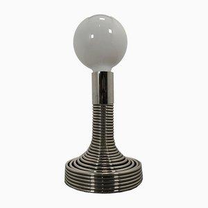 Spiralförmige italienische Tischlampe von Angelo Mangiarotti für Candle, 1970er