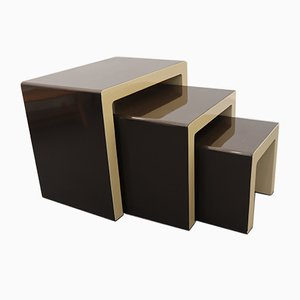 German Nesting Tables by Christian Koban for DOM, 1970s, Set of 3