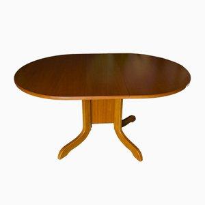 Mid-Century Teak Drop Leaf Dining Table, 1960s