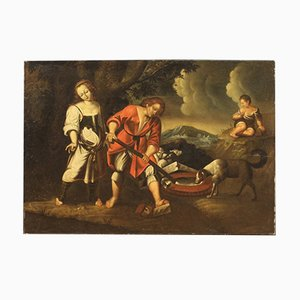 Antique Painting, Oil on Canvas, 18th Century