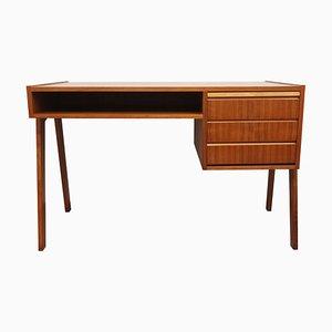 Walnuss Schreibtisch, 1960er
