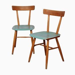 Beistellstühle von TON, 1960er, 2er Set