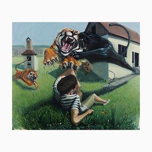 Cortile The Dangerous Backyard di Mihai Florea