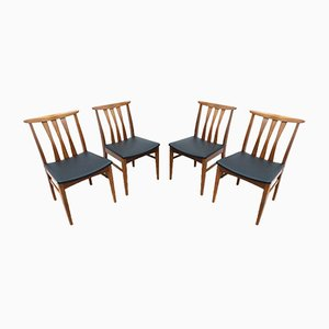 Mid-Century Vintage Teak Dining Chairs by John Herbert for Younger, 1960s, Set of 4