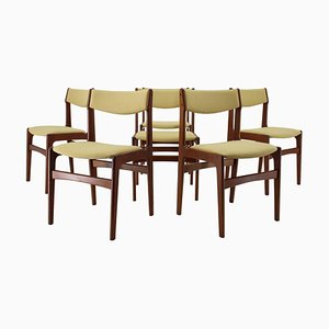 Danish Teak Dining Chairs, Set of 6, 1960s