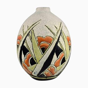 Art Deco Vase by Charles Catteau for Boch Freres Keramis, Belgium