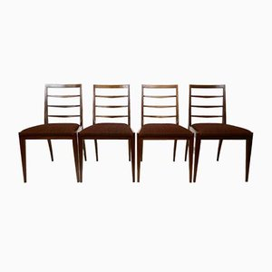 Mid-Century Teak Dining Chairs from Mcintosh, 1960s, Set of 4