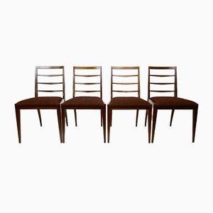 Mid-Century Teak Esszimmerstühle von Mcintosh, 1960er, 4er Set