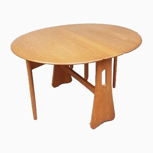 Mid-Century Style Extending Drop Leaf Dining Table from Ercol
