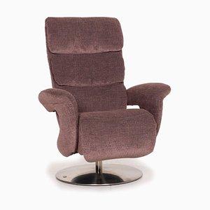 Himolla Hurley Fabric Armchair in Rose