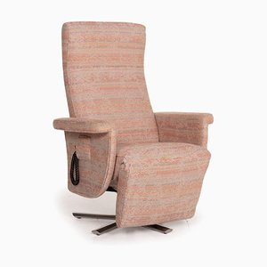 Fabric Armchair in Rosé Beige Pastel from Strässle