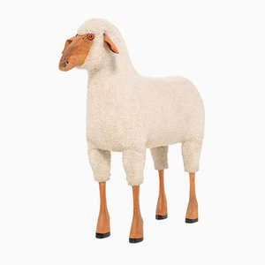 Wool Sheep Sculpture by Hanns-Peter Krafft for Meier, 1970s