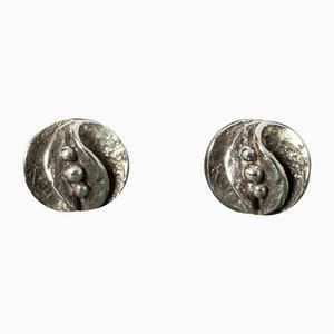 Orecchini in argento di Theresia Hvorslev, set di 2