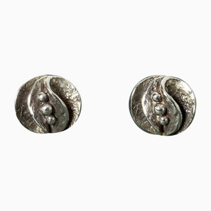 Silberne Ohrringe von Theresia Hvorslev, 2er Set