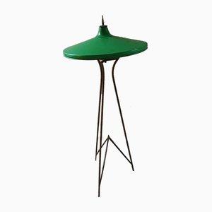Dreibeinige italienische Stehlampe, 1950er