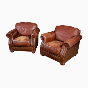 Large Vintage Leather Chair