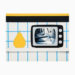 Tom Wesselmann, TV Still Life, Screen Print, 1965
