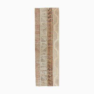 Türkischer Vintage Patchwork Wollteppich