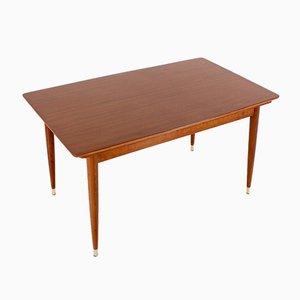 Skandinavischer Verlängerbarer Tisch, 1960er