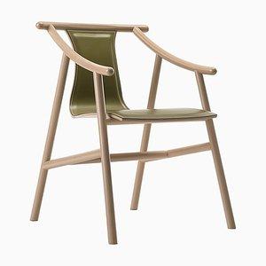 Grüner Modell 03 01 Stuhl von Vico Magistretti