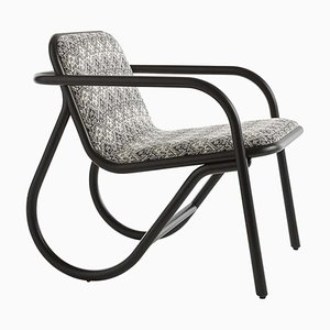 No. 200 Upholstered Lounge Chair by Michael Anastassiades