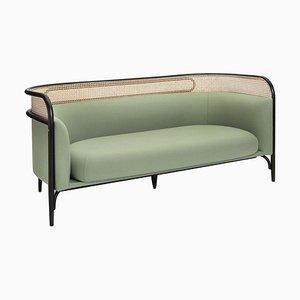 Sofá de dos plazas Targa en verde