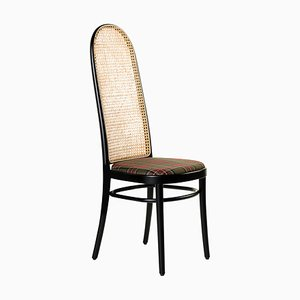 Morris Black Tartan Tall Chair by Gamfratesi