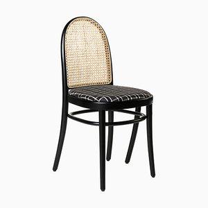 Morris Tartan Chair Noire par Gamfratesi