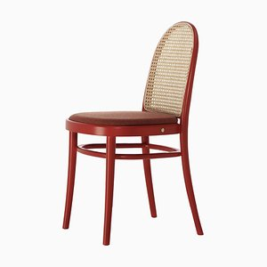 Chaise Basse Morris Rouge