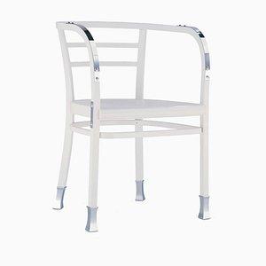 Postsparkasse Stuhl in Weiß
