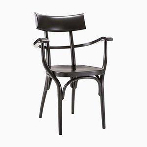 Czech Black Chair by Hermann Czech