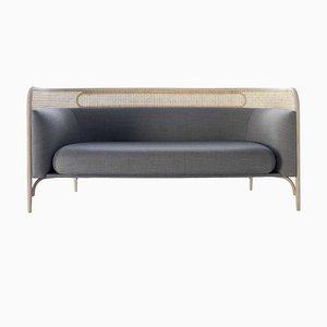 Dunkelgraues Targa 2-Sitzer Sofa