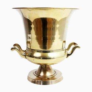 Vintage Art Deco Brass Ice Bucket