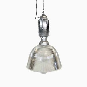 Large Industrial Pendant Lamp by Charles Keller for Zumtobel, 1990s